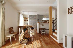 子どもたちを健やかに育む、空気がやさしい 無添加住宅