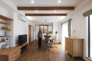 心地よくて安心な無添加住宅® は 今も将来も快適で、豊かな空間