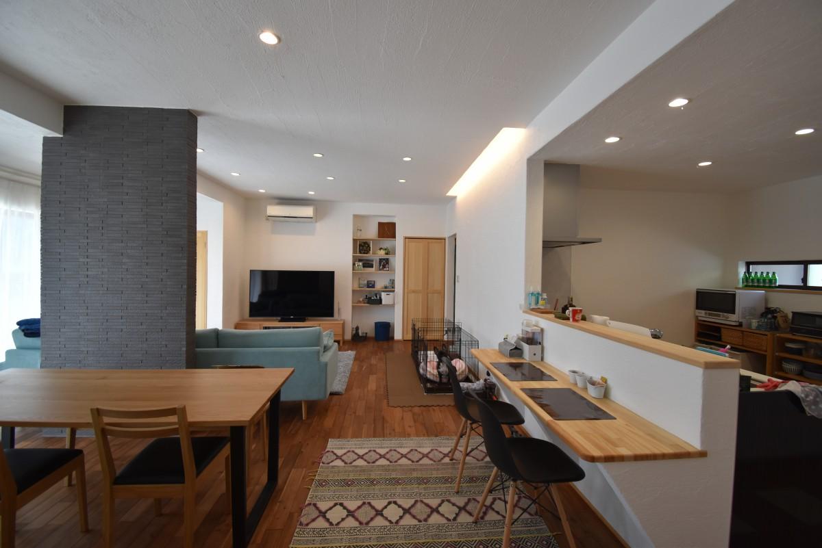 今あるものから新たなものを…サスティナブル社会に対応した無添加的二世帯リフォーム住宅
