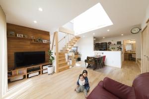 健やかに暮らすための無添加住宅® 暮らしやすくてお洒落な家が誕生!